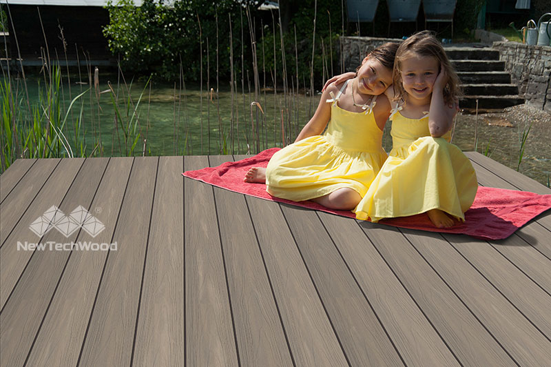 NewTechWood UltraShield Composite Decking Antique