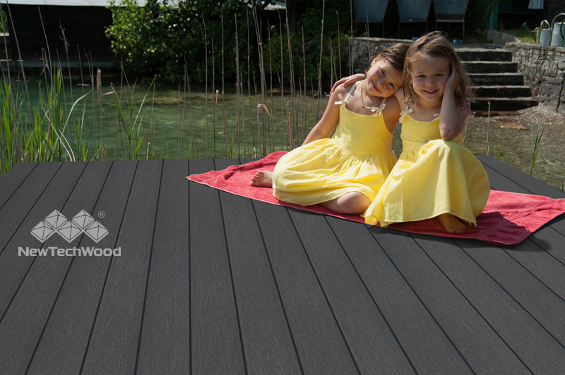NewTechWood UltraShield Composite Decking Charcoal